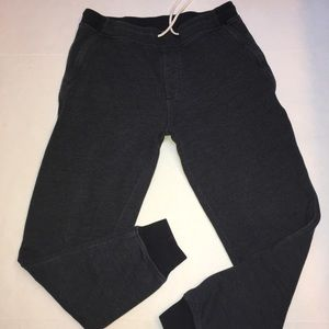 J. Crew Knit Goods Blue Slim Classic Sweatpants